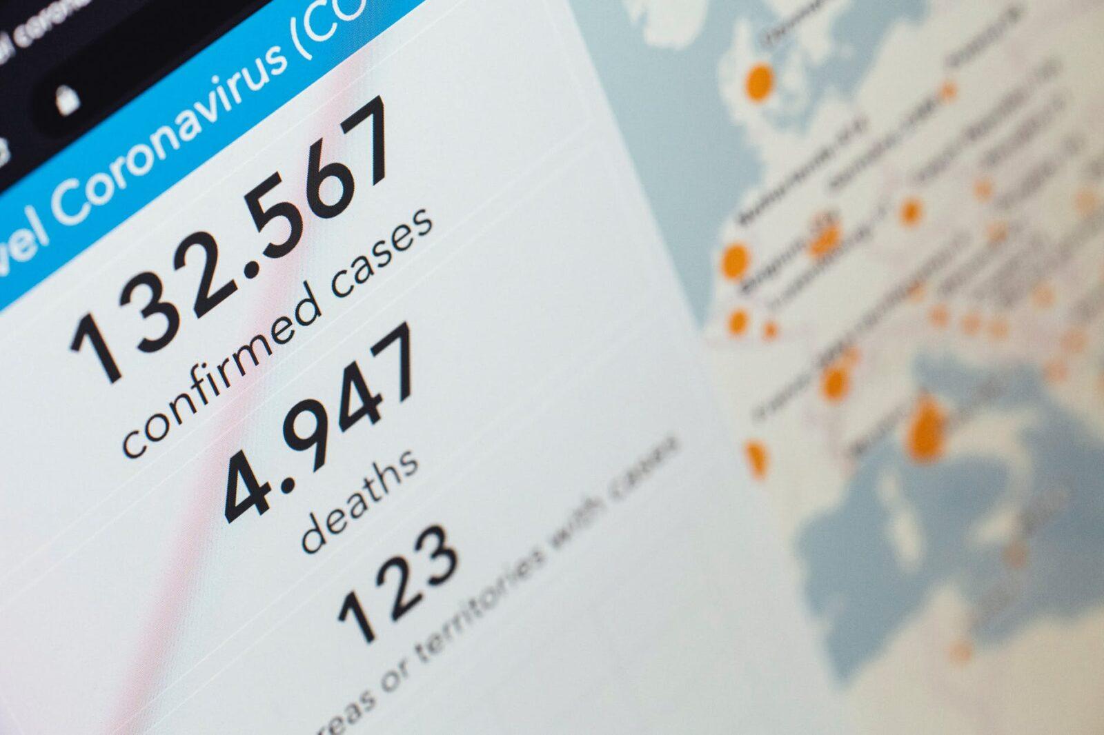 coronavirus statistics